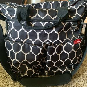 Skip Hop tote diaper bag - used